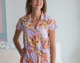 Notched Collar Rompers By Silkandmore - cute getting ready outfit, Alternative to Bridesmaids Robes, Bridesmaids Gifts, Jumpsuits