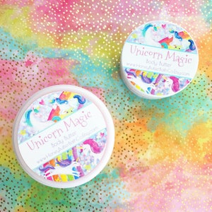 Unicorn Magic Body Butter   Fruit Loops, Rainbow, Ice Cream, Birthday, Lotion, Sparkle, Unique, Cereal, Cream, Fruit, Party, crazyadsteam