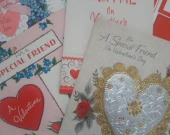 Vintage Valentine's Day Cards