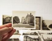 Windsor Castle. 12 Vintage Black & White Snapshots.  Antique Souvenir Photographs. Original Cover.