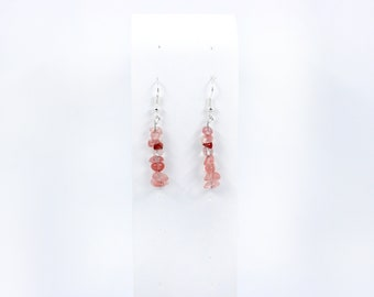 Stacked Stone Earrings(Various Stone Options)