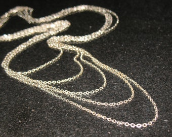 Vintage 5 Chain Bib Multichain Necklace 52 inches or 26 inch