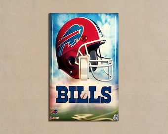 NFL - Buffalo Bills - Light Switch Plate Covers Home Decor Outlet