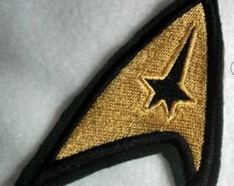 StarTrek TOS Command Badge