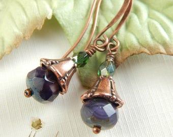 Woodland Fae earrings