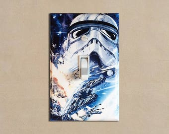 Star Wars 4 - Light Switch Plate Covers Home Decor Outlet
