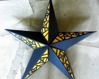 Hand-Cut Paper Star