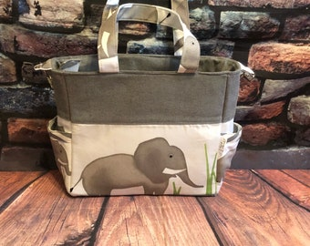 Elephant baby bag changing bag nappy bag stroller bag dipper bag mum to be ready to ship