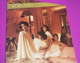 SISTER SLEDGE: We Are Family - vinyl record album music pop dancr disco soul r&b r and b group 70s '70s 70's '80s 80s 80's '90s 90s 90's