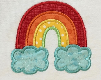 Rainbow baby onesie, infant bodysuit, toddler shirt, made to order
