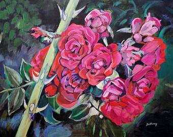 Your Love - Original Acrylic Painting