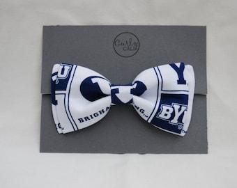 BYU bow tie