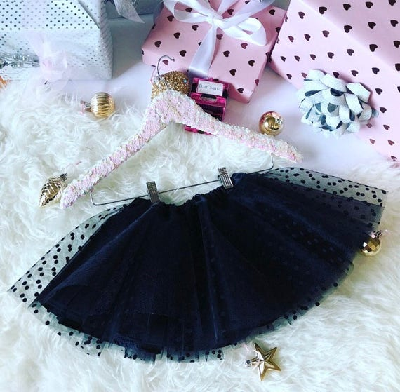 Polka Dot Kids Tulle Skirt