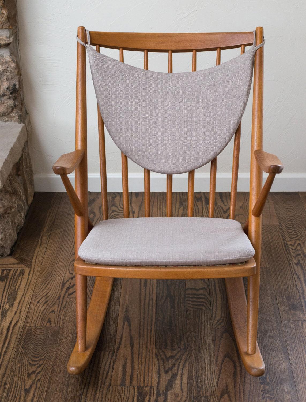 Frank reenskaug rocking chair -  Zoom