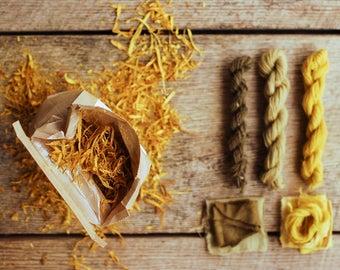Osage Orange Wood Chips, Natural Dye Supply, Botanical Dye, Recipe Included, Osage Orange, DIY Dye Kit