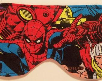 Marvel's Avengers Inspired Sleep Masks #2