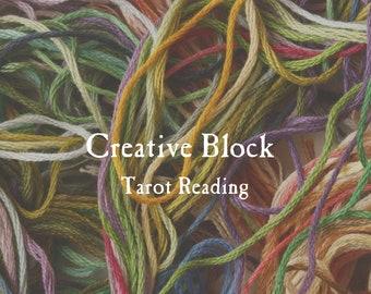 Creative Block Tarot Reading   Inspiration, Artistic Expression & Creative Flow