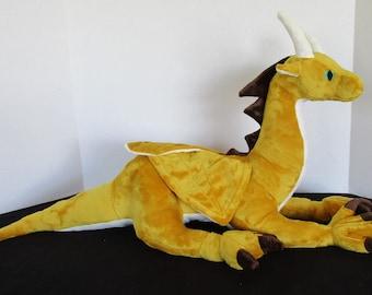 Large Gold Western Dragon 2