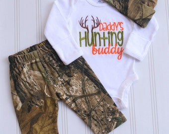 Baby Boy Clothes Baby Boy Coming Home Outfit Baby Boy Gift  Baby Boy Antler Outfit  Newborn Baby Boy Hunting Outfit Baby Boy Camo Outfit