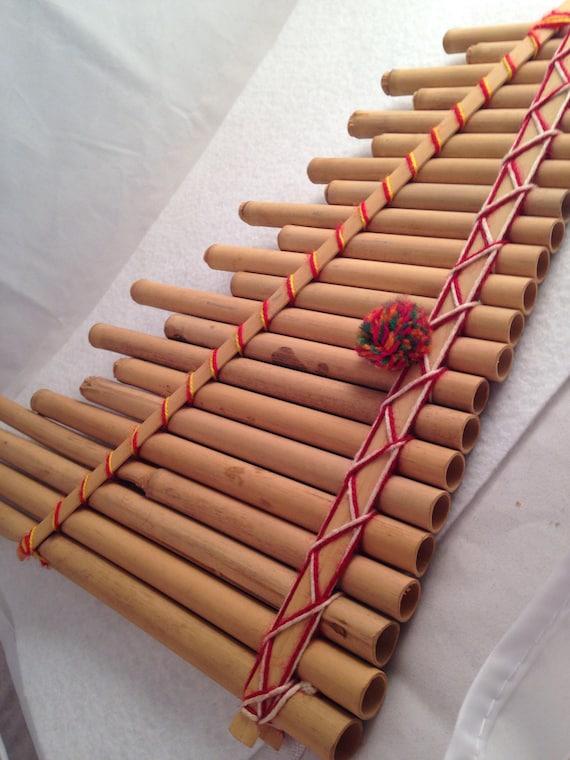 Vent flûte Pan Pipes flûte musique vent bois bambou