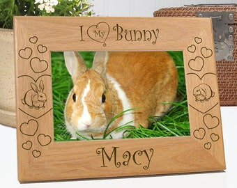 I Love My Bunny Picture Frame