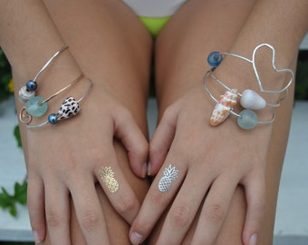 Custom Beachy Bangles