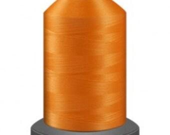 Tangerine  thread, quilting thread, sewing machine thread, glide no 40, Tex 27, sewing thread, 1000m cone, Orange thread, polyester thread