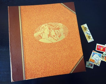 Workbook / sorter / Album for postage stamp - Album pages for stamps - Vintage collection.