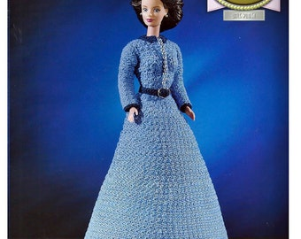 The Golden age of Film Collection  Little Women  Fashion Doll  Crochet Pattern  Annies Attic 8404