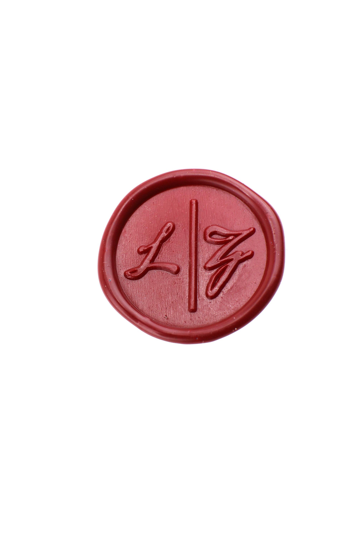 Initials wax seal stamp/Custom monogram wedding seals/wedding ...