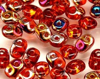 10/20g Matubo Superduo HYACINTH color beads  DU0590030 two hole beads Super Duo Czech beads 2.5x5 mm