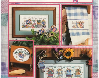 Cross Stitch Patterns – Seasons of Angels – Good Natured Girls Collection – Counted Cross Stitch Patterns