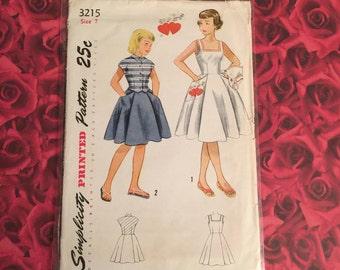50's Vintage Simplicity Pattern