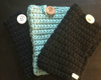 Crochet Tablet Cover| Device Cover| Kindle Cover| iPad Cover| Gift| E-Reader Sleeve| Device Sleeve