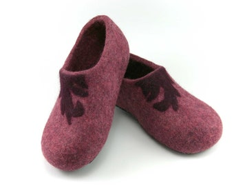 Slippers, Wool Felted Slippers