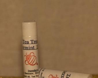 Tinted Tea Tree & Peppermint Lip Balm