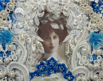 Marianne Shabby Victorian Lace Wall Hanging