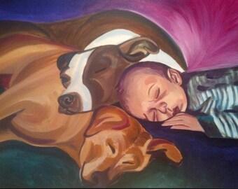 Personalized Paintings: portrait