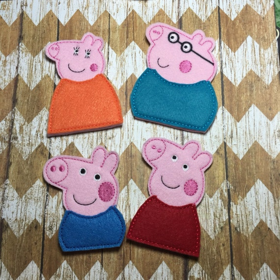 Títeres de dedo Peppa Pig