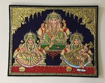 16 X 20 inch tanjore painting
