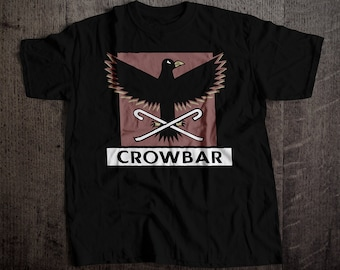Crowbar SF Bar T-Shirt | Ringspun Unisex and Ladies Fit Tee | Vintage San Francisco Dive Bar Clothing