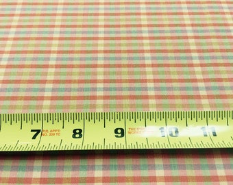 Checked Fabric- 1 1/2 yd