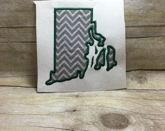 Rhode Island Applique, Rhode Island Embroidery Design Applique