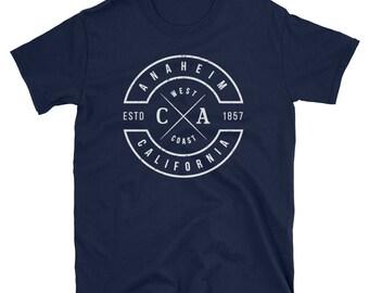 Anaheim California T Shirt Vintage CA Souvenirs