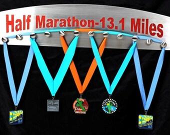 Medal Hanger, Medal rack, Medal hooks, Finisher Medal Displays;  Half Marathon Medal Display - Stainless Steel -