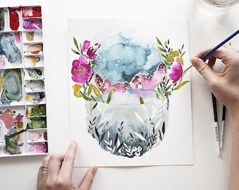 Surreal Landscape Print