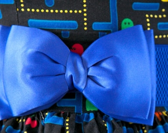 Royal Blue Bow Belt