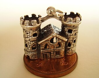 Sterling Silver Tower Of London Charm