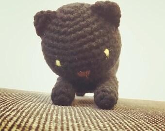 Crochet Neko astume cat keychain
