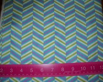 Destash- Over 1 Full Yard Of Quilter's Cotton Herringbone Fabric